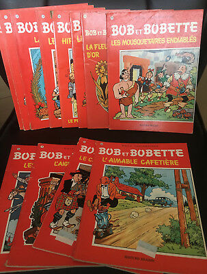 Lot 12 Albums Bob Et Bobette Fr (Willy Vandersteen)