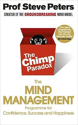 The Chimp Paradox by Prof Steve Peters NEW Paperback Book