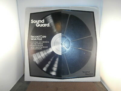 Vintage 1978 SOUND GUARD Record Care WORK PAD for maintenance of VINYL LPs 45s