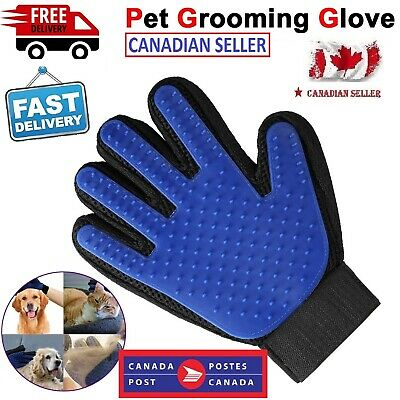 New Pet Dog Cat Hair Remover Grooming Glove Magic Brush Deshedding for Gentle Ca