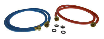Jason Industrial Universal 3805FFB-2RB Washer Blue & Red Fill Hose Set
