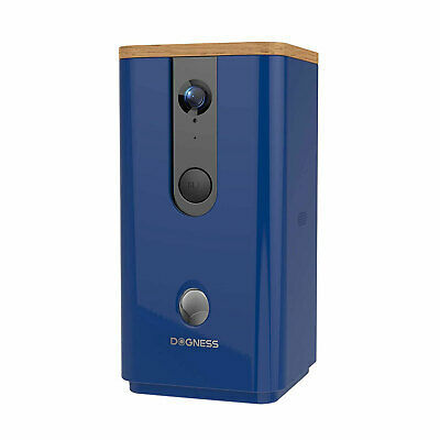 Dogness Smart Cam Treater Automatic Pet Treat Dispenser with HD Camera, Blue