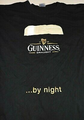 New Old Stock Promo Guinness Draught Stout Beer Toucan Black Tee T Shirt Small