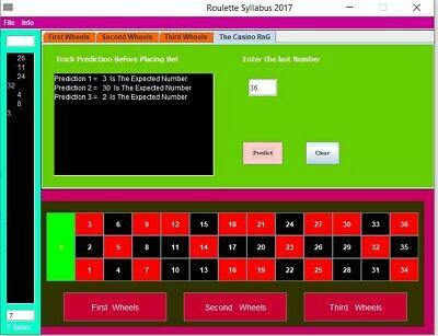 Roulette Syllabbus Software