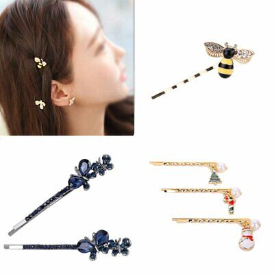 Fashion Women Hair Clips Star Animal Barrette Hairpin Pins Hair Accessories Gift