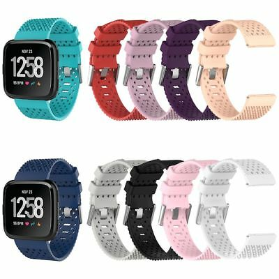 Silicone Band Replacement Wristband Watch Strap For Fitbit Versa Smart Bracelet