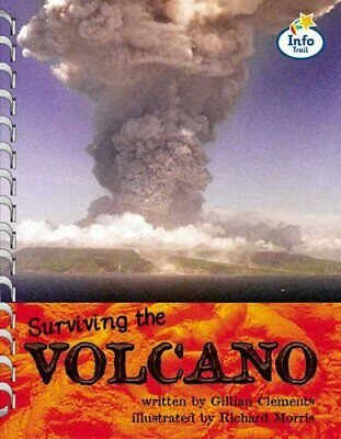 Volcano! Info Trail Fluent Book 8 (LITERACY LAND) by Coles, Martin Paperback The