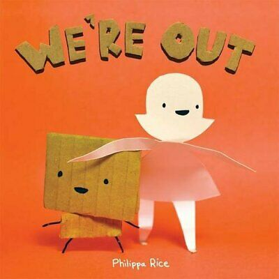We're out by Rice, Philippa Book The Cheap Fast Free Post