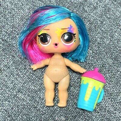 rare Lol Surprise Doll Splatters Hairgoals Makeover Series Hairspray Authentic!