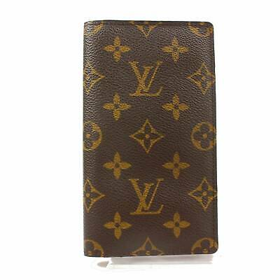 Authentic Louis Vuitton Diary Cover Agenda Posh Browns Monogram 363552