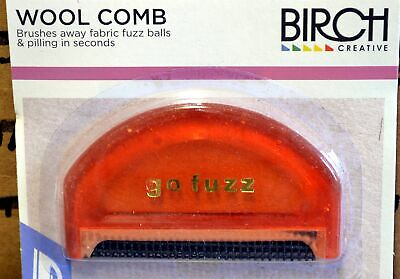 WOOL COMB - REMOVES PILLING AND FUZZ BALLS - Wide Tooth
