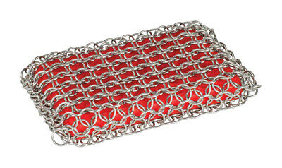 Lodge  Chainmail  Heavy Duty  Cast Iron Scrubbing Pad  8.71 in. L 1 pk