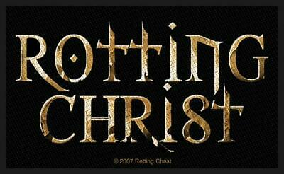 Rotting Christ - Logo Patch Aufnäher -