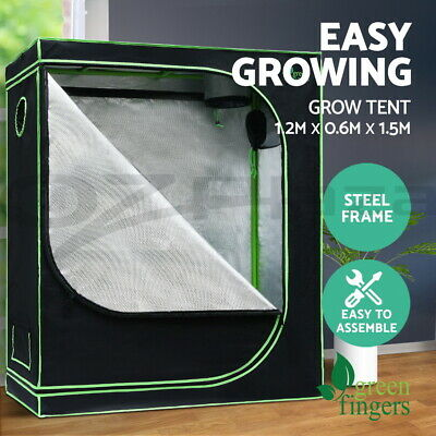 Greenfingers 120 x 60 x 150cm Hydroponics Indoor Grow Tent Kit Grow System