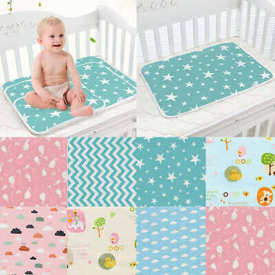 Baby Changing Mat Cover Diaper Nappy Change Pad Waterproof Toddler Infant
