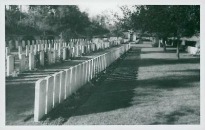 Norfolk cemetery somme France. - Vintage photo
