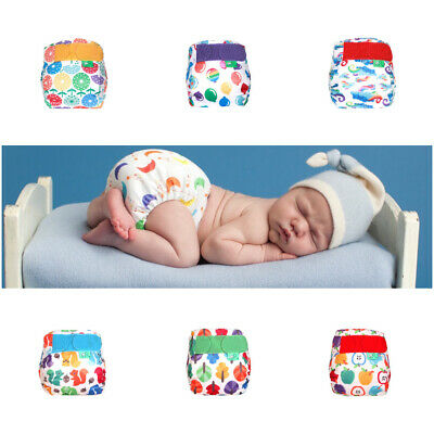 Nappy TotsBots Teenyfit Easyfit Star Reusable Washable All In One Bamboo Newborn