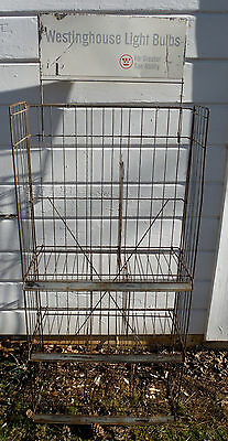 40s Westinghouse Collapsible Folding Shelf~Many Uses~Store Front~Easy Transport