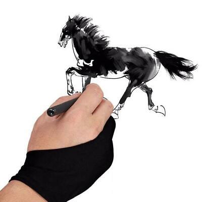 Artist Gloves with Two Fingers for Tablet Drawing Graphic Tablet Graphic N4U8 02