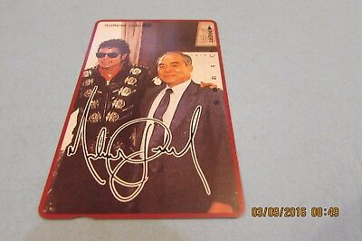 Michael Jackson Rare Mint Unused Phonecard From Japan (A1)