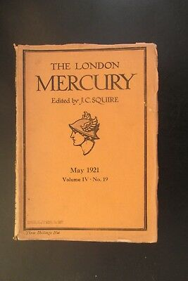 1921 The London Mercury Katherine Mansfield The Daughters Of The Late Colonel