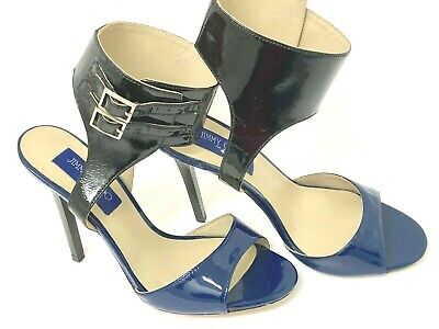 987839aadd Jimmy Choo for H&M Blue and Black Stiletto Heels Pumps size 38 - US 7 MINT