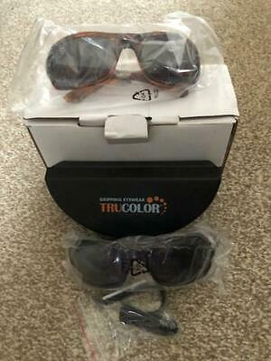 2 pack TRUCOLOUR gripping SUNGLASES with case and boxed