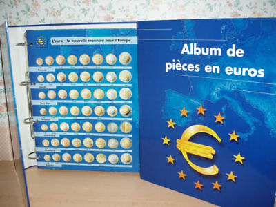Album Classeurs Pieces EUROS Collection