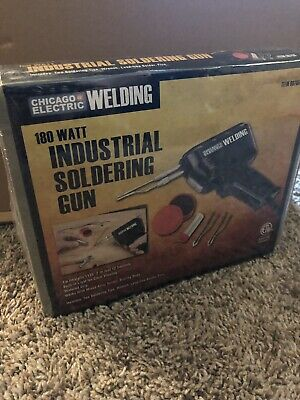 chicago electric 18 Watt Industrial Welding Soldering Gun