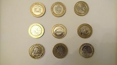 Rare £2 two Pound uk coin hunt coins for the Royal Mint albums large selection
