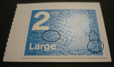 2013 SG U3032 (ex U2970) 2nd NVI Large - Code MA13 / MFIL  from Booklet of Four