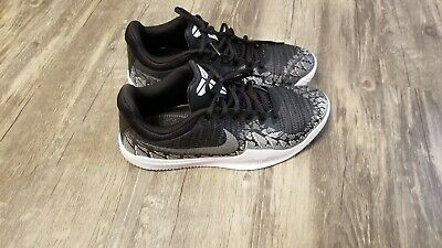 new arrival 31dce 8e9b2 Used Men s Nike Kobe Mamba Rage 908972-001 Anthracite AD Basketball Shoe 8
