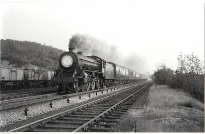 Rail Photo LMS MR Ambergate station Derbyshire