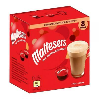 Maltesers 8 Hot Chocolate Pods. Dolce Gusto Compatible