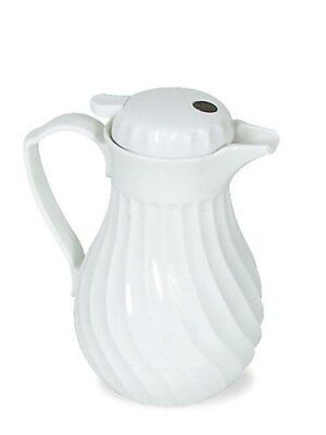 Hormel Connoisserve Insulated White Swirl Carafe - Abs Plastic - 1each (HOR4022)