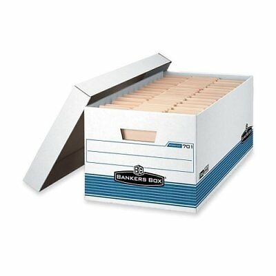Bankers Box Stor/file - Letter, Lift-off Lid - Taa Compliant - Stackable -
