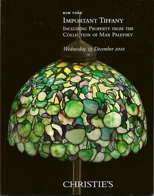 CHRISTIE'S Important TIFFANY Glass Lamps Palevsky Collection Auction Catalog