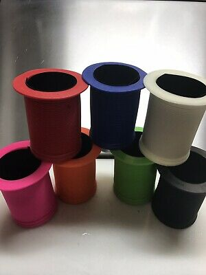 ODI HANDLEBAR GRIP KOOZIE COOZIE LONGNECK CAN DIRT BIKE BMX ATV Blue