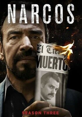 Narcos: The Complete Third Season (DVD,2018)