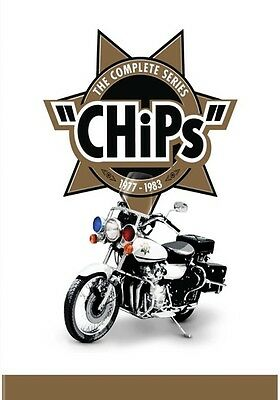 CHiPs: The Complete Series (DVD,2017)
