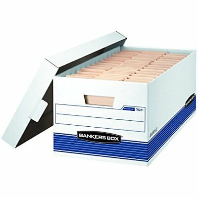"Fellowes Bankers Box Stor/File - 24"" Letter, Lift-Off Lid, 20pk (0070110)"