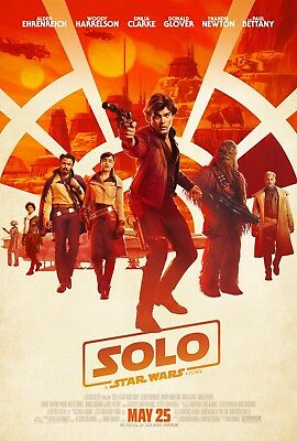 """Solo A Star Wars Story movie poster (b)  - 11"""" x 17""""  - Star Wars poster"""