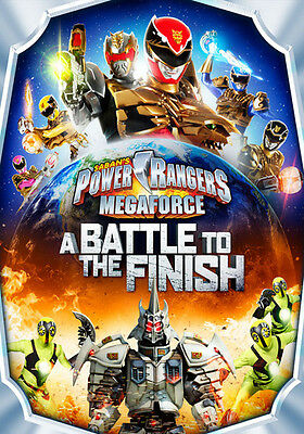Power Rangers Megaforce: A Battle to the Finish (DVD,2014)