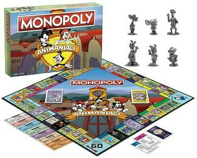Monopoly: Animaniacs Board Game