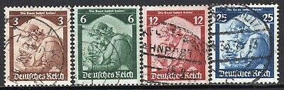 5003 - Germany Reich 1935 - Saar's Re-annexation - Used Set