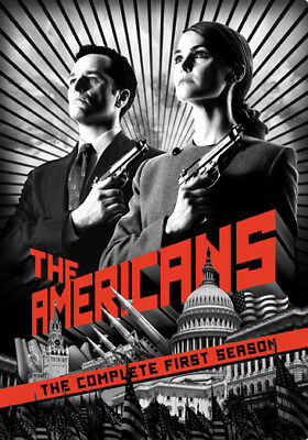 The Americans: The Complete First Season (DVD,2014)