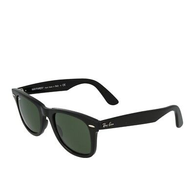 aacaa87273382 RAY-BAN RB 4340 601 Black Green Lens Wayfarer New Italy 50mm - EUR ...