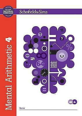 Mental Arithmetic Book 4: Year 5 Ages 9-1 by Schofield & Sims NEW Paperback Book