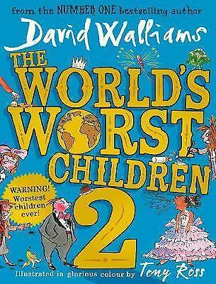 The World's Worst Children 2 by David Walliams New Hardback Book