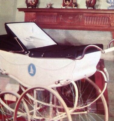 Silver Cross & Wilson  1960s pram vintage catalogue service